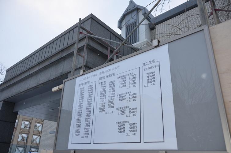 AO入試・推薦入試Ⅱ 合格発表