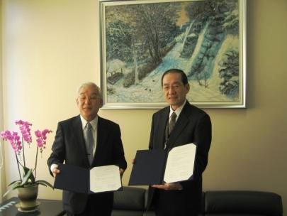 (独)放射線医学総合研究所と緊急被ばく医療に関する協力協定を締結(平成20年10月2日)