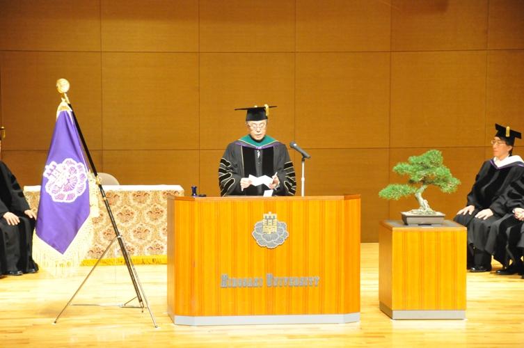 平成26年度大学院入学式告辞(平成26年4月8日)