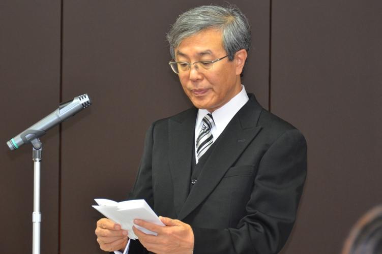 平成24年度秋季学位記授与式告辞(平成24年9月28日)