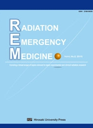 「Radiation Emergency Medicine Vol.4 No.2」