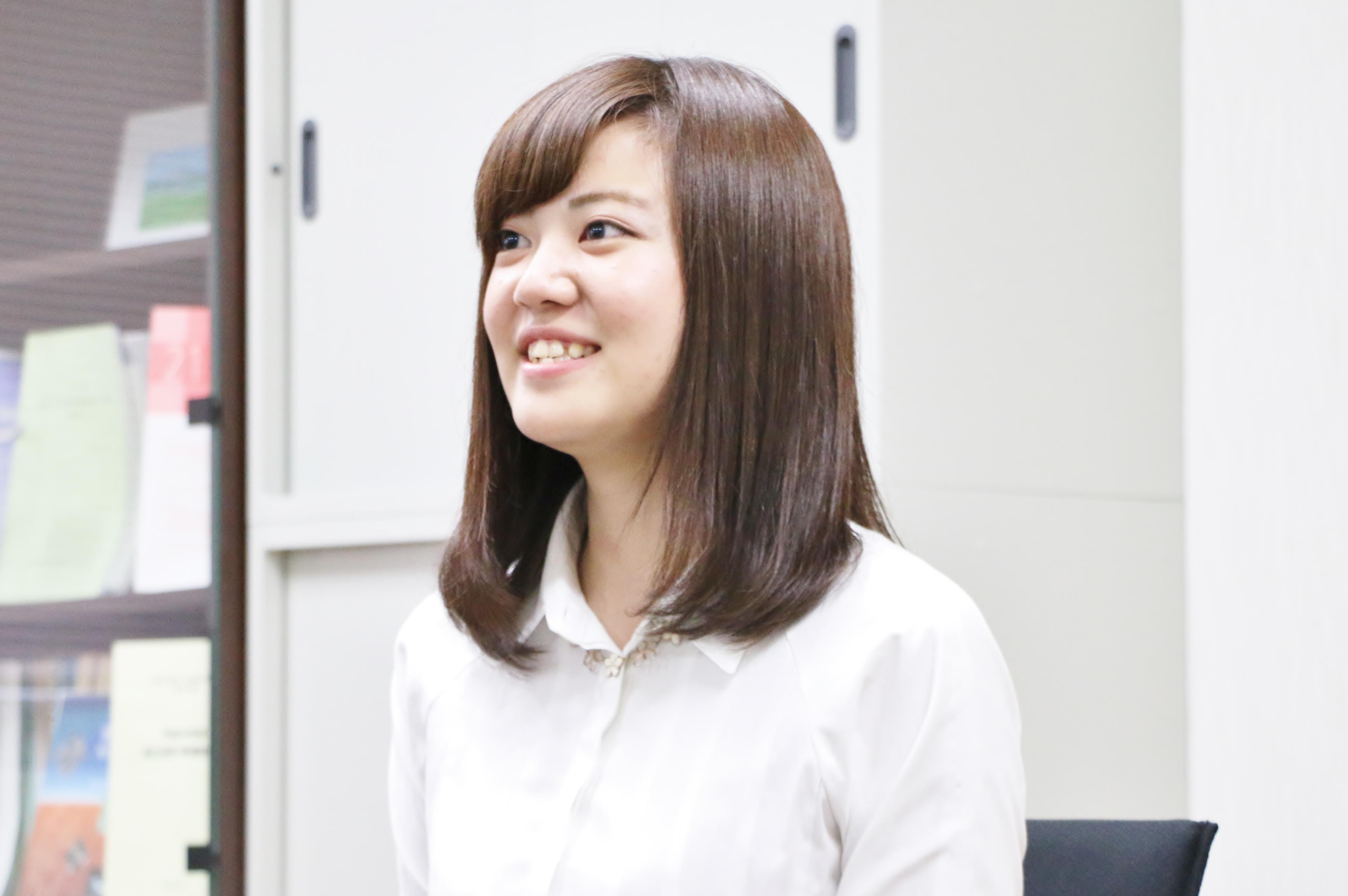 弘前大学教育学部2年赤坂理菜さん