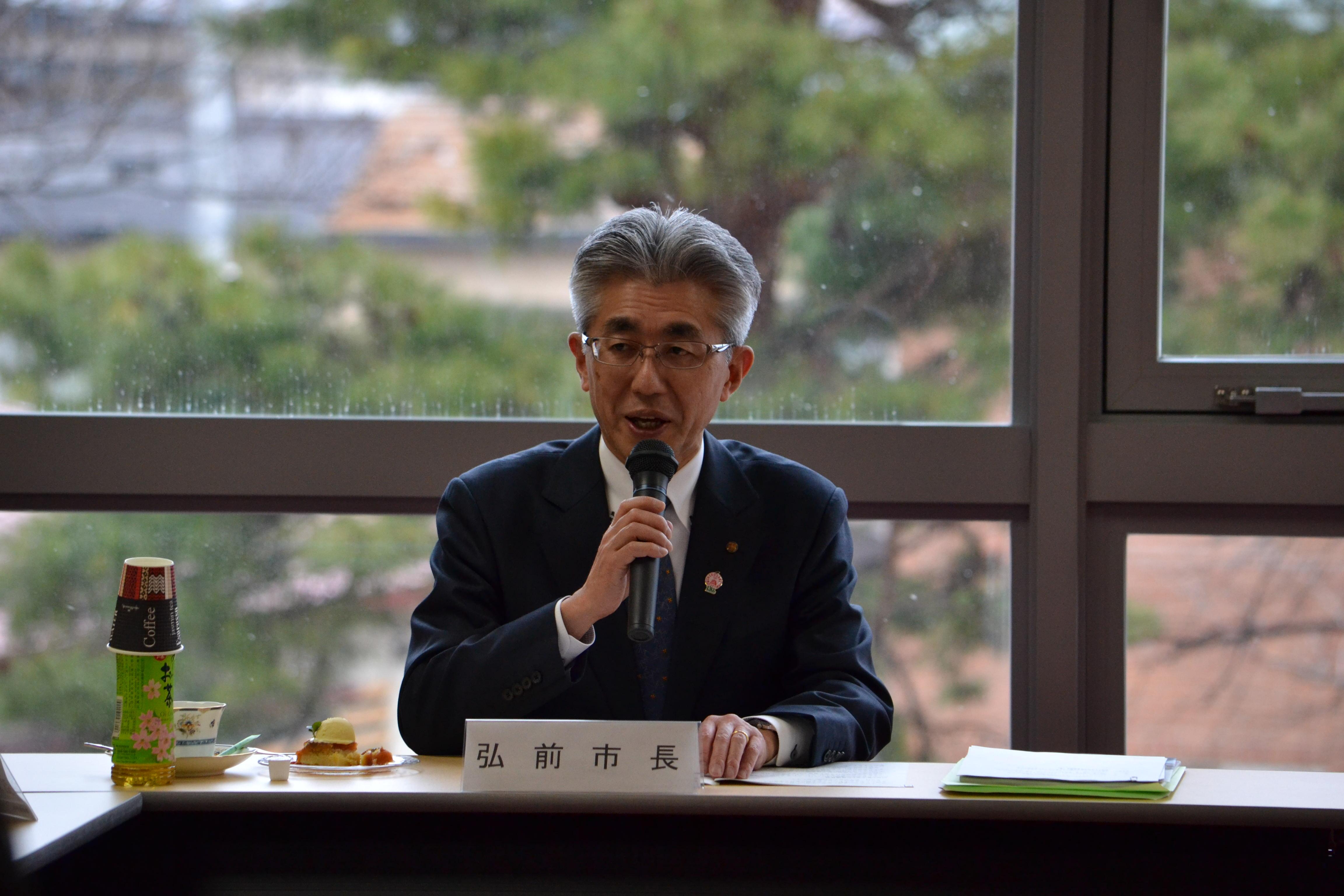 櫻田宏弘前市長