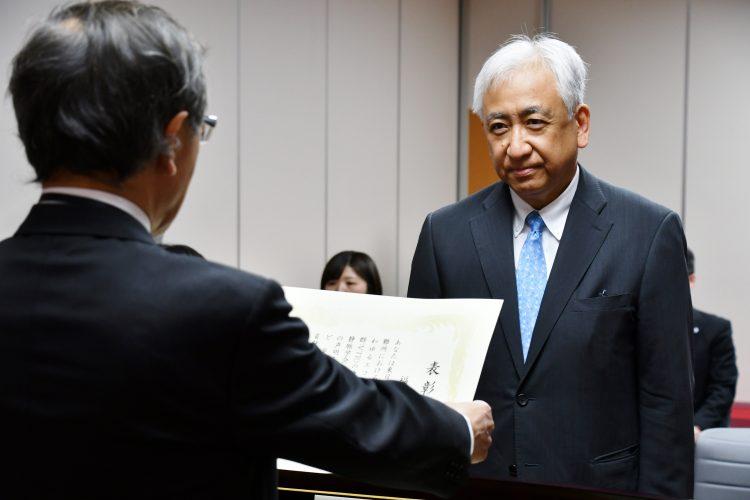 福田幾夫教授