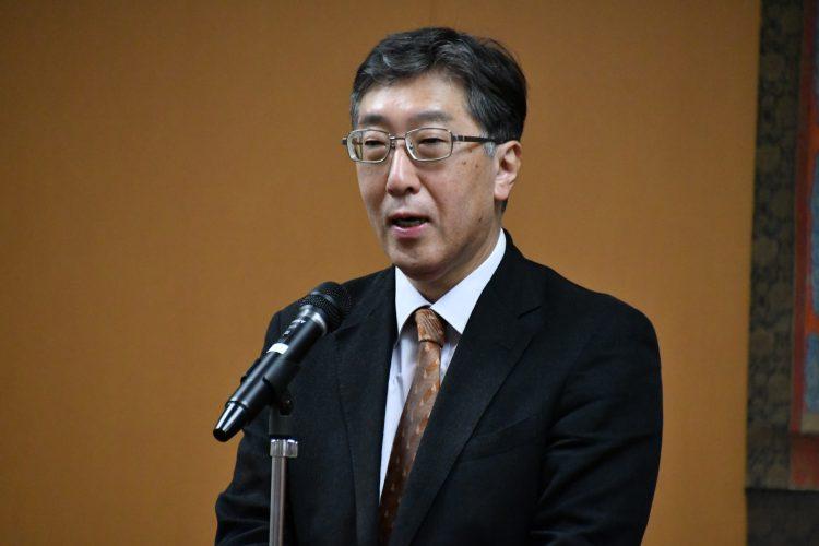 弘前大学今井人文社会科学部長