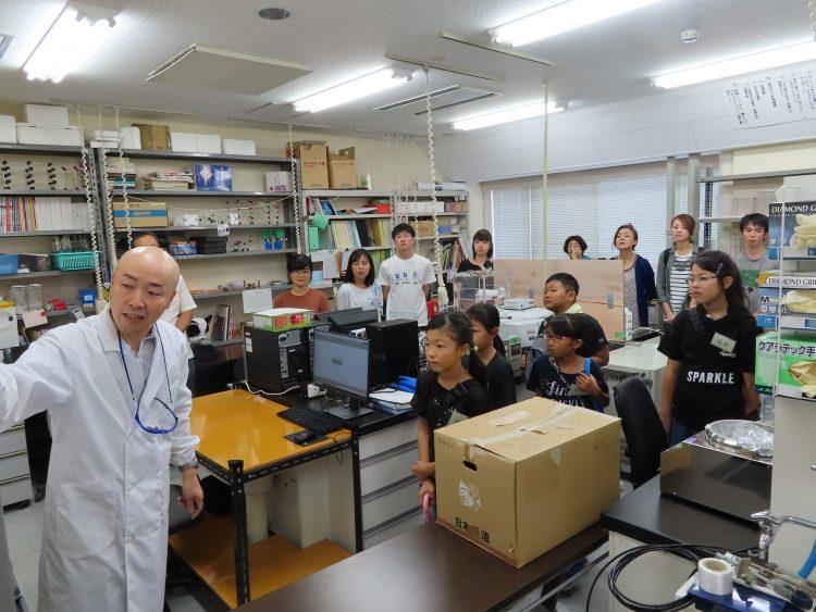 島田研究室での様子
