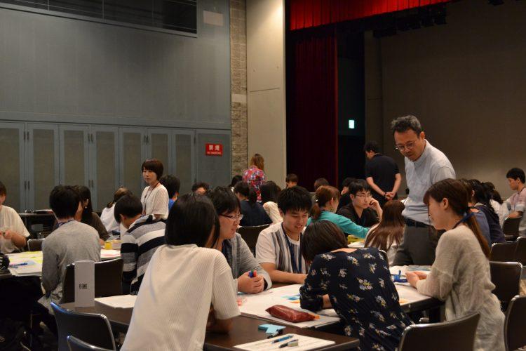 1日目:地域生活課題について考える学生