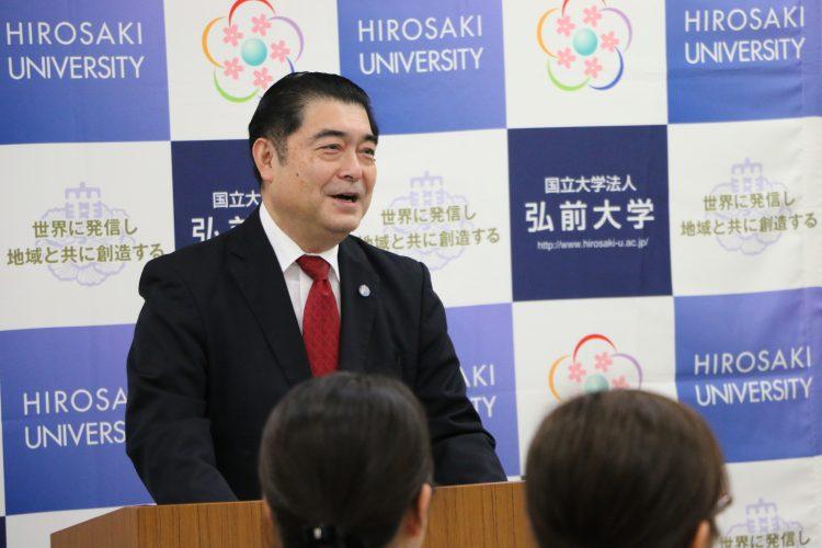 石川理事からの挨拶