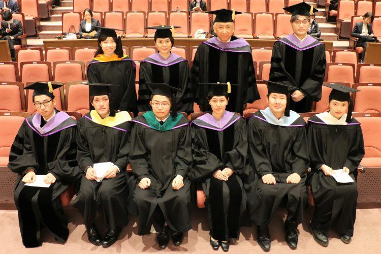 大学院代表者集合写真