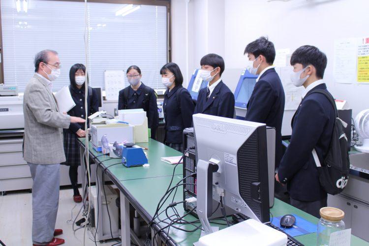 弘前大学大学見学